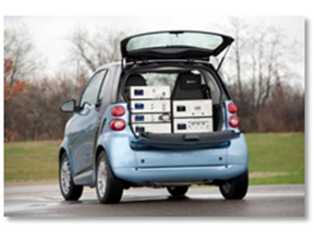 Light vehicle emissions measuring systems