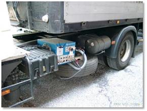Commercial vehicle emissions measuring systems